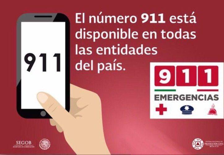 También puedes llamar a  la Cruz Roja, en caso de estar  herido o necesitar ayuda al 065 y a los Bomberos 068. (Twitter)