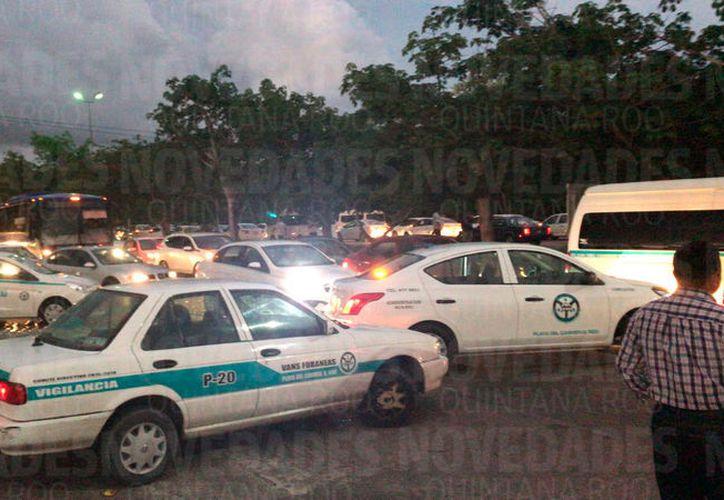 En Playa del Carmen se reportó la primera manifestación. (Redacción/SIPSE)