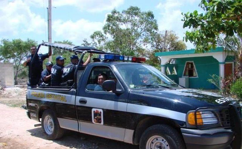 Los vándalos han apedreado a las patrullas y protagonizado batallas campales con la policía. (Manuel Salazar/SIPSE)