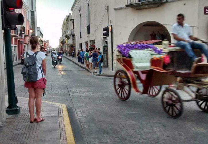 Los turistas extranjeros sólo representan el 15 por ciento de la ocupación hotelera, según los últimos datos del sector. La imagen es de archivo. (Eduardo Vargas/SIPSE)