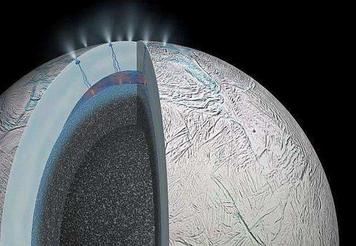 La luna de Saturno cuenta con dos ingredientes para albergar vida. (Foto: Nasa)
