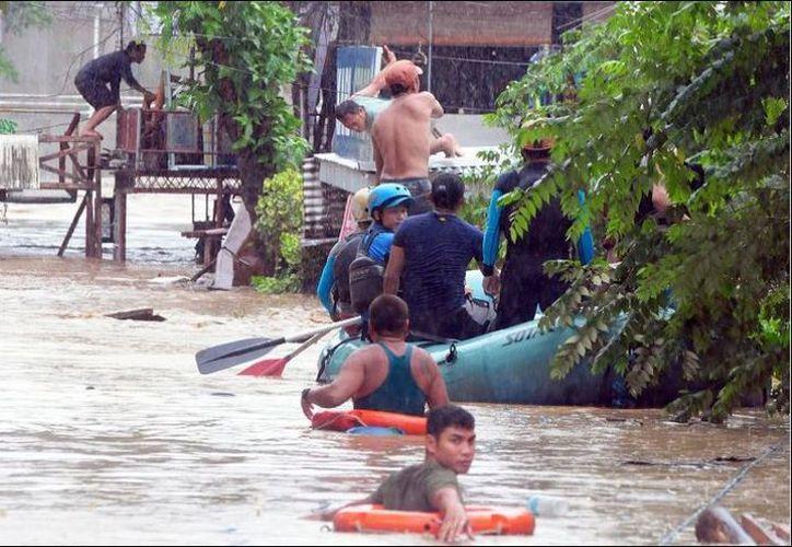 La provincia de Lanao del Norte es la más afectada por la tormenta con al menos 62 muertos. (Foto: Contexto/Internet)