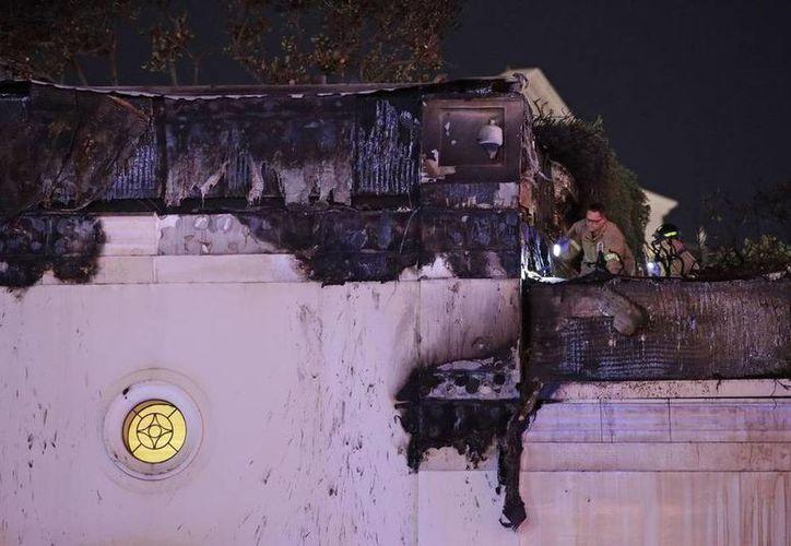 Las llamas fueron extinguidas en menos de una hora. (El nuevo herald)