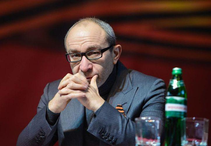 Kernes declaró que no apoyaba a los insurgentes prorrusos y que respaldaba una Ucrania unida. (Agencias)