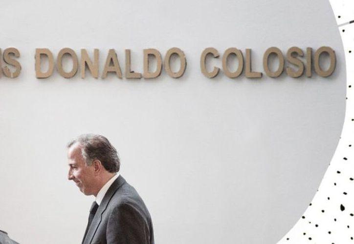 José Antonio Meade Kuribreña nunca dijo que es como Luis Donaldo Colosio. (Especial)
