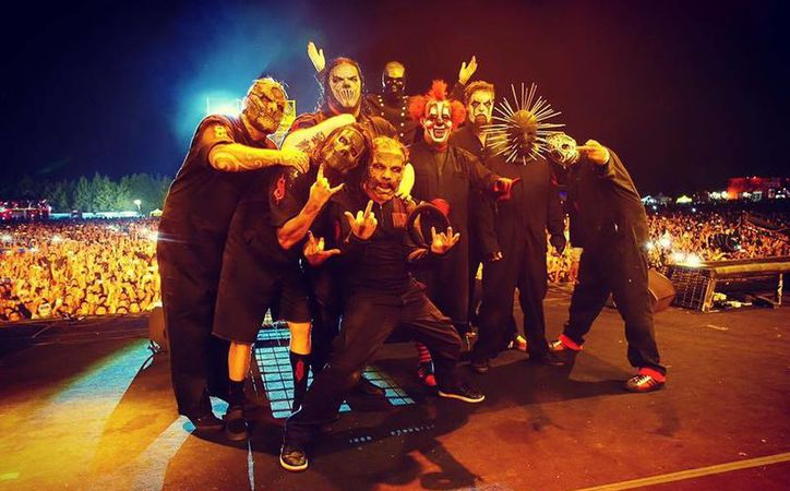 Slipknot fue la última banda en tocar en la segunda edición del Festival de Metal, el cual duró dos días.(Foto tomada de Facebook/Knotfest)