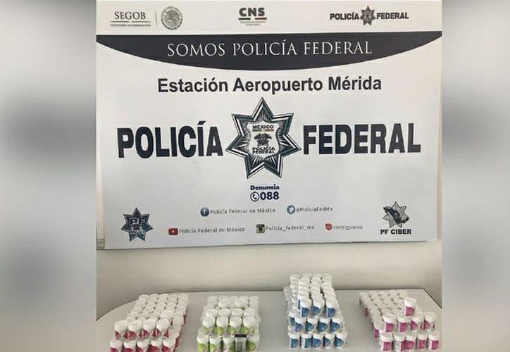 El cargamento asegurado fue decomisado por la Policía Federal. (Policía Federal)