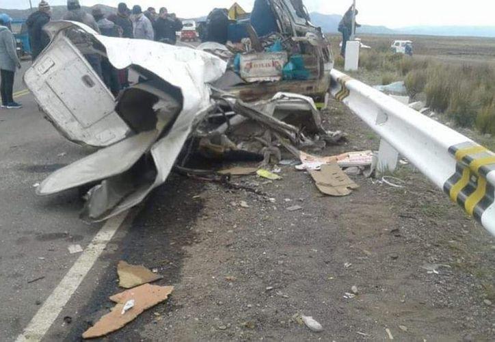 El accidente dejó cuantiosos daños materiales. (vanguardia.com)