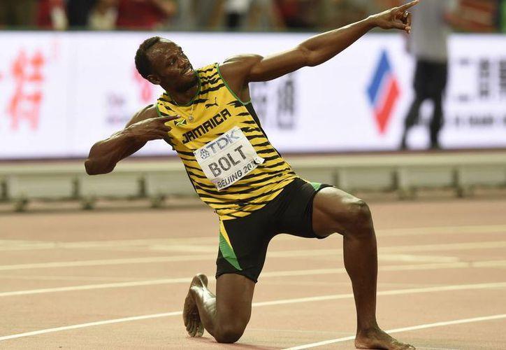 El velocista jamaicano Usain Bolt participará en las competencias de la Liga Diamante de Atletismo en Londres, los días 22 y 23 de julio de 2016. (Notimex)
