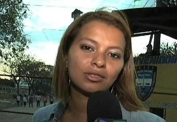 Fidelina Sandoval salió ilesa del atentado. (s277.photobucket.com)