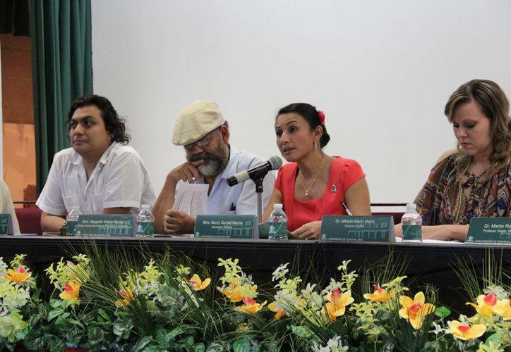 El evento de presentación se realizó en el Auditorio Yuri Knorosov. (Jorge Carrillo/SIPSE)