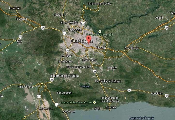 José Jáuregui Jiménez, de 75 años, al parecer es quien mató a su vecino Humberto Rosales Moya en Santa Anita, Tlaquepaque, Jalisco. (Google Maps)
