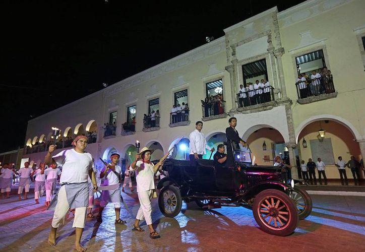 Más de 800 actores representaron gesta heroica de hace 104 años en Valladolid. (Milenio Novedades)