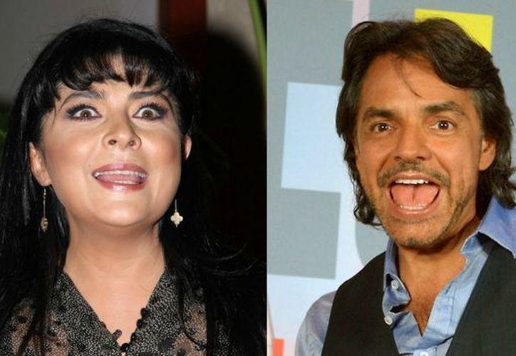 Los actores no han tenido una muy buena relación desde su separación, pero Ruffo no rechazó trabajar con Derbez. (Internet)