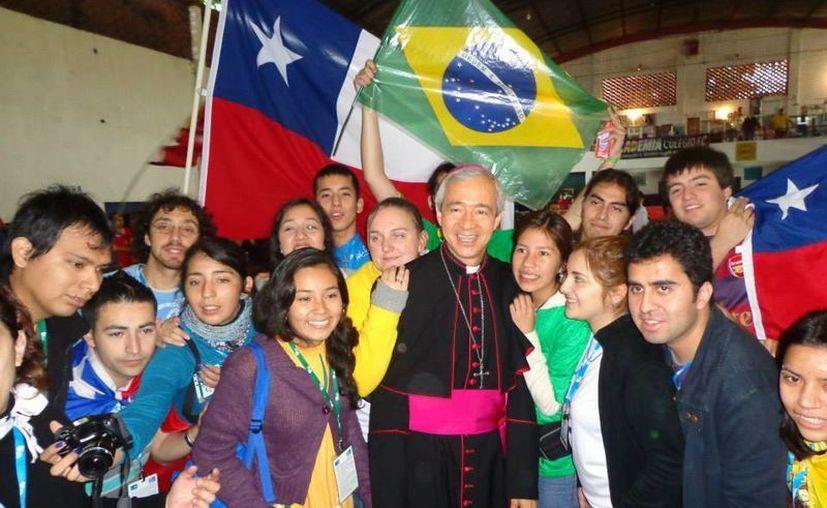 Recientemente Mons. Patrón participó en la Jornada Mundial de la Juventud. (Milenio Novedades)