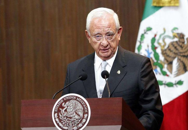 Juan Silva Meza, presidente de la Corte, aseguró que México está listo para consolidar el pleno Estado de Derecho. (Notimex)