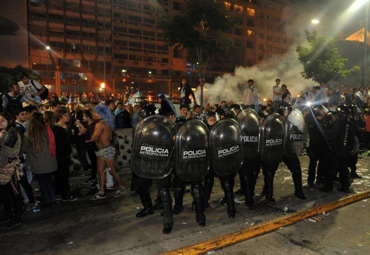 El secretario de Seguridad argentino, Sergio Berni, consideró que los disturbios en Buenos Aires fueron planificados. (EFE)