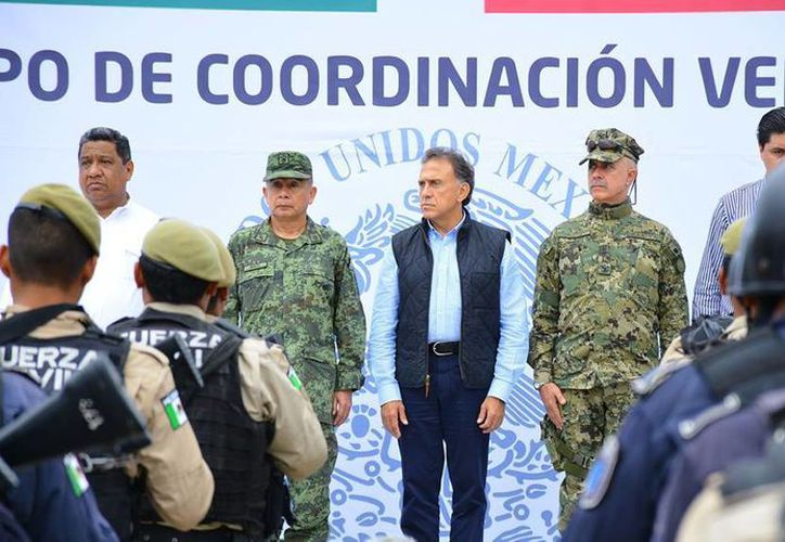 Miguel Ángel Yunes llamó a los tres órdenes de gobierno a colaborar para reducir la delincuencia en Veracruz. (Facebook/Miguel Ángel Yunes)