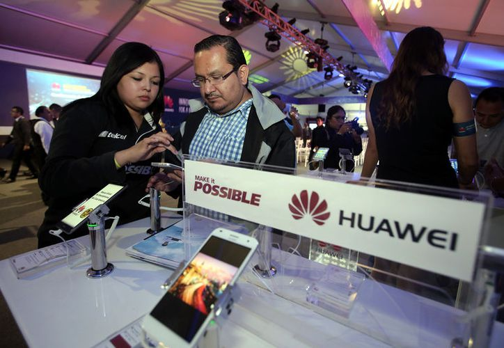 """Huawei está """"involucrado en actividades que son contrarias a la seguridad nacional, señalaron autoridades de EU. (Foto: Reforma/Alejandro Mendoza)"""
