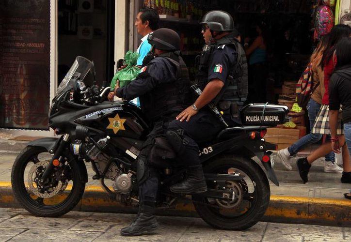 De los 430 policías municipales que están en funciones, 303 deberán de volverse a someter a las evaluaciones de control y confianza. (Milenio Novedades)