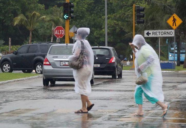 Tlaxcala y Tamaulipas son los estados donde se espera que caigan lluvias muy fuertes. (Notimex)