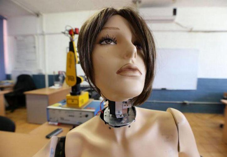 El prototipo de robot enfermera 'Marisol' estaría listo en menos de un año. (Notimex)