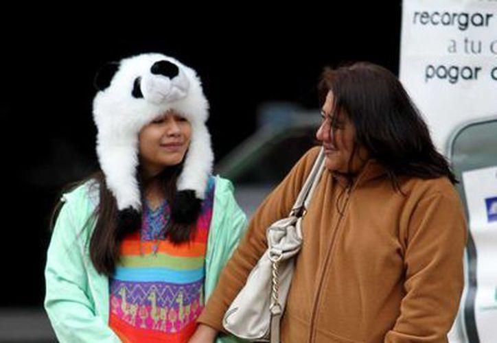 En Alta Vista, Nuevo León, se registró ayer la menor temperatura: -9 grados. (Notimex)