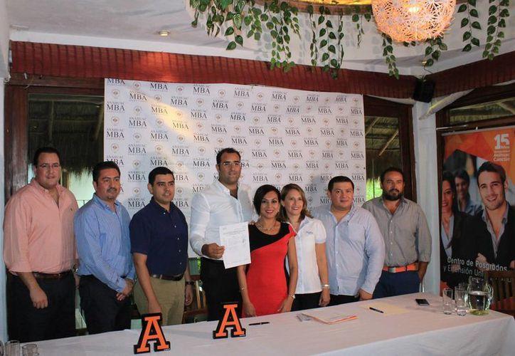 Fue establecida la asociación en la Universidad Anáhuac. (Jesús Tijerina/SIPSE)