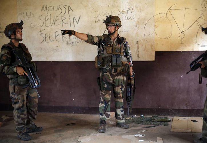 Las tropas de la ONU apoyarán a las francesas para recuperar la paz en República Centroafricana. (Agencias)