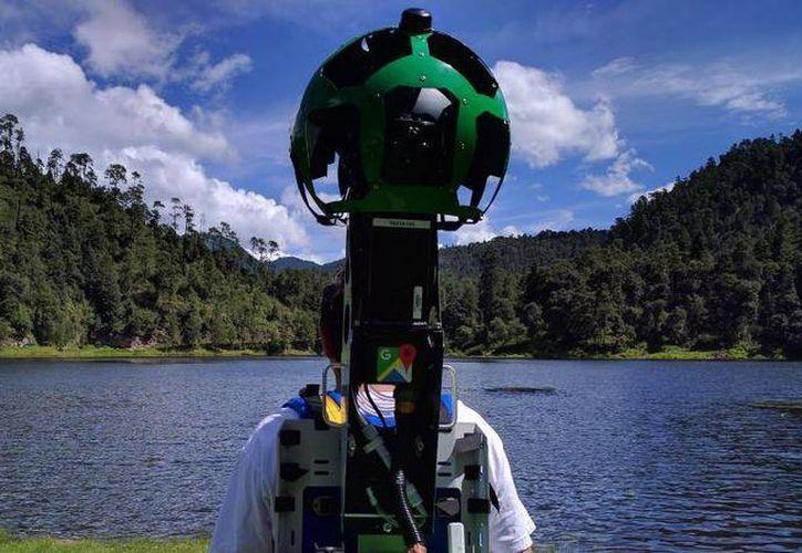 Con tomas de 360 grados Google te acerca a conocer los sitios más bellos, algunos de difícil acceso, que hay en México. (Foto cortesía de Google)