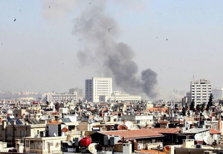 Siria y en particular su capital Damasco (foto) viven bajo la metralla entre rebeldes y fuerzas del régimen. (EFE/Archivo)