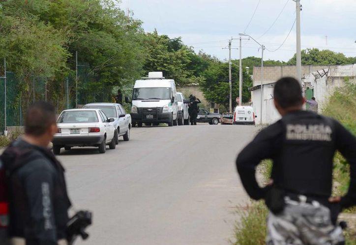 La Fiscalía informa de cuatro detenidos por la muerte de Luis Luna Guarneros: uno de ellos está acusado de homicidio y los otros tres de encubrimiento. (SIPSE)