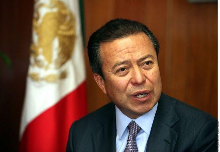 Camacho Quiroz, defendió la acción de inconstitucionalidad que impulsará el PRI  por la ratificación de los mandos de seguridad. (REFORMA)