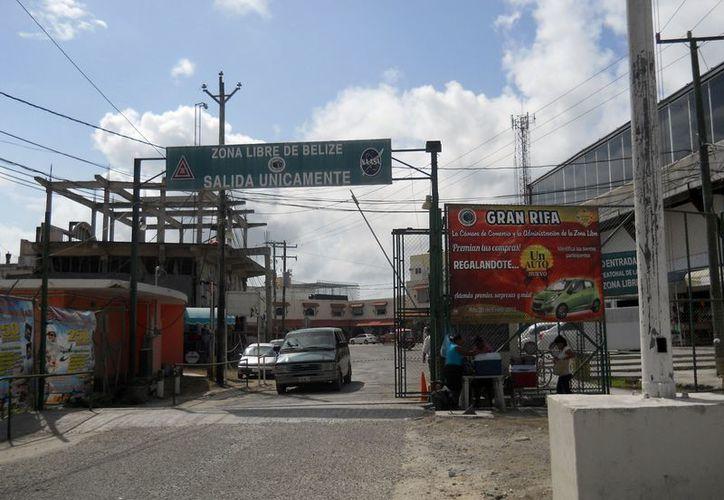 La actual zona Libre de Belice alberga 265 establecimientos. (Francisco Sansores/SIPSE)