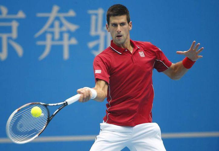 Djokovic no ha perdido un solo partido en China desde que cayera ante Roger Federer en las semifinales de Shanghai en 2010. (Foto: AP)