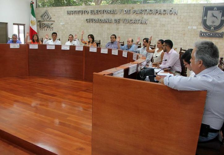 Este sábado sesionó el Instituto Electoral y de Participación Ciudadana (Iepac) para revisar los últimos detalles previos a los comicios de mañana 7 de junio en Yucatán. (SIPSE)