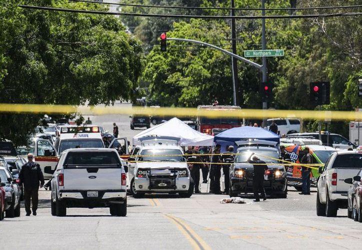 El menor falleció luego del tiroteo registrado el 10 de abril en la escuela primaria North Park, en San Bernardino. (Reuters).