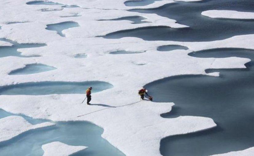 El calentamiento global podría exponer al Ártico a recibir una mayor contaminación a medida que se reduce la extensión del hielo marino.  (Reuters).