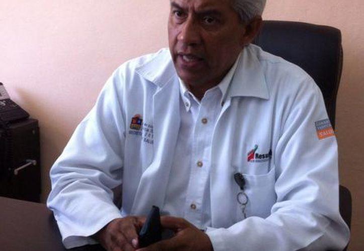 """Rubén Maldonado Villanueva, director del Hospital General de Cancún, """"Jesús Kumate Rodríguez"""". (Sergio Orozco/SIPSE)"""