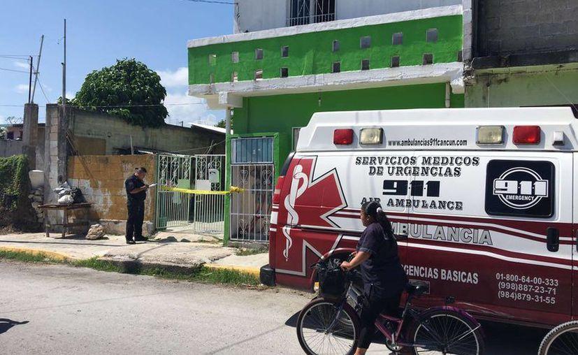 Una menor de edad falleció cuando ayer cuando tomaba leche de un biberón. (Adrián Barreto/SIPSE)