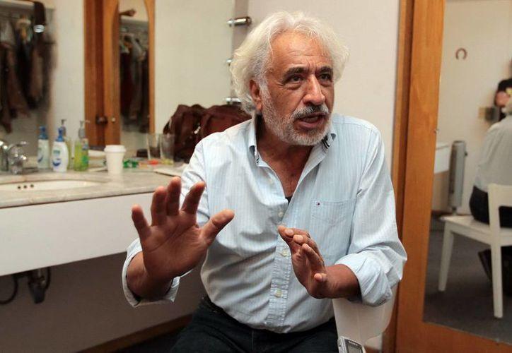 """A más de 50 años de distancia Rafael Inclán asegura: """"Sí, estoy satisfecho con todo lo que he hecho, con mi carrera"""". (Notimex)"""