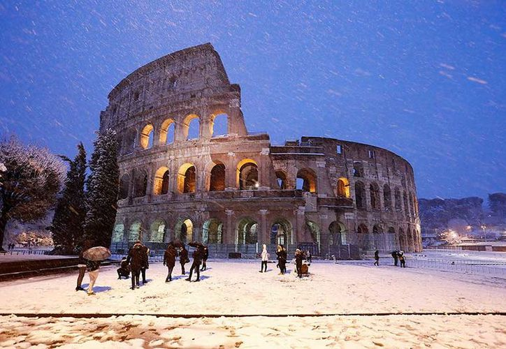 Europa sufre por segundo día consecutivo una ola de frío extremo. (Excélsior)