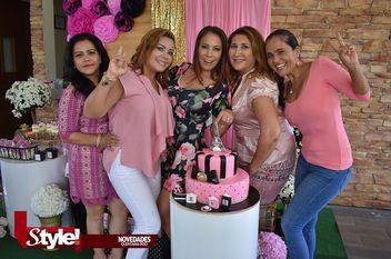 Celebra cumpleaños Miriam Sanjuan