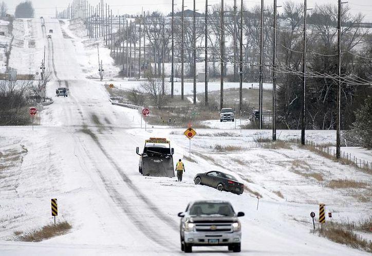 El Servicio Meteorológico Nacional (NWS) reportó acumulaciones de nieve en los estados de Pensilvania, Nueva Jersey y Nueva York, y la región de Nueva Inglaterra. (Contexto/ Internet)