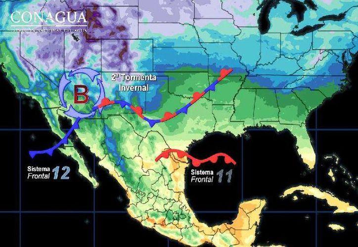 La temperatura máxima alcanzará los 30 grados centígrados en Cancún. (Conagua)