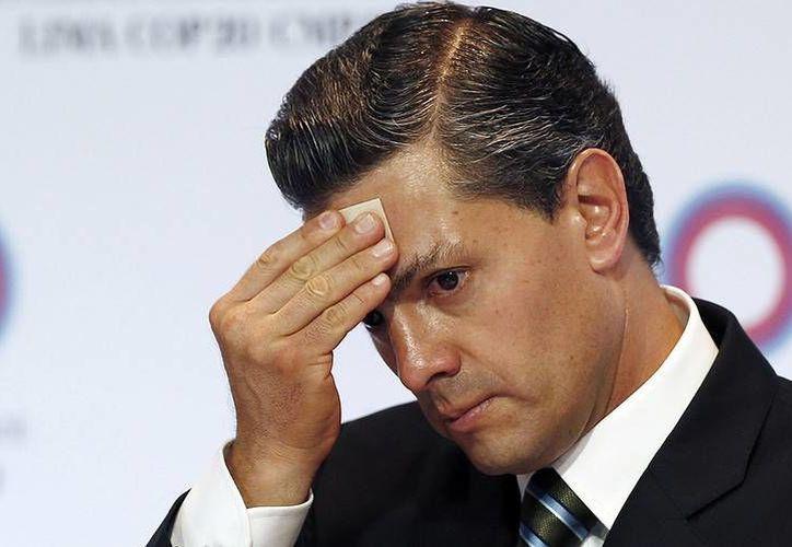 Peña Nieto y la familia San Román tienen una relación de varias décadas, aseguró el vocero de la Presidencia. (Archivo/AP)