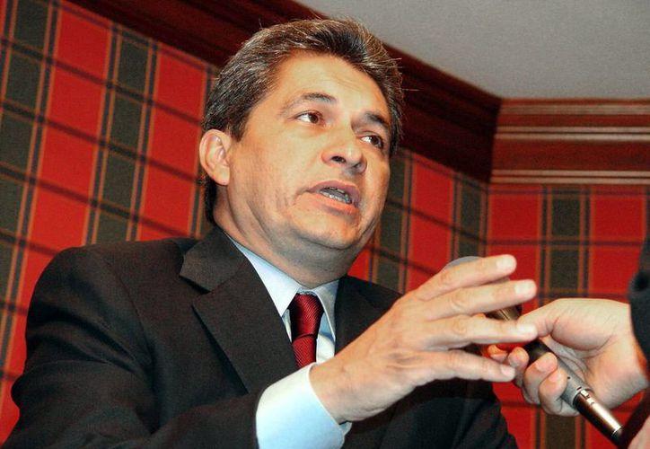 El empresario Antonio Peña Argüelles al parecer servía de enlace entre los cárteles del Golfo y Los Zetas, y el ex gobernador (foto) Yarrington. (Notimex/Archivo)