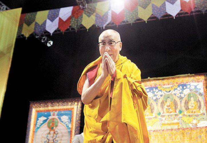 El Dalai Lama pidió fomentar las cualidades espirituales y evitar las discusiones. (Milenio)
