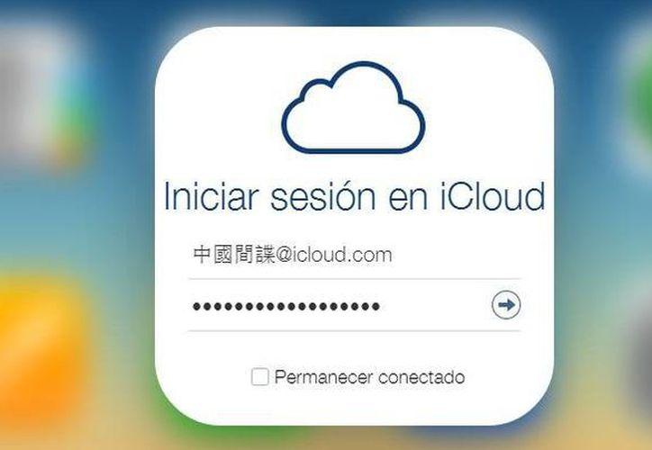 El servicio de almacenamiento en la nube de Apple fue vulnerado por un hacker que hizo públicas las fotos de famosas desnudas robadas. (Captura de pantalla/icloud.com)