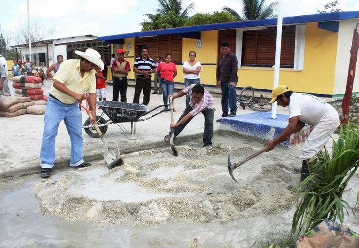 Al menos 20 obras se realizarán en las localidades. (Javier Ortiz/ SIPSE)